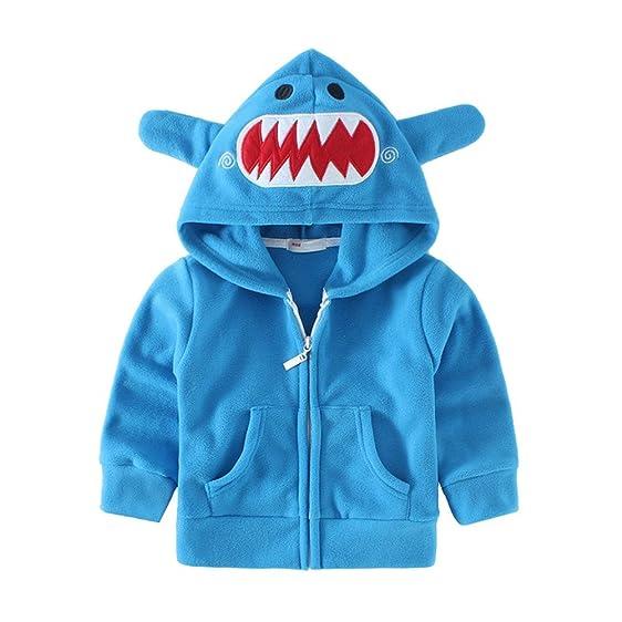 mud kingdom adorable baby boys fleece animal costume hoodies 12m blue shark