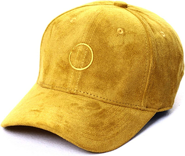 Newest Women Baseball Cap Circle Ring Embroidery Simple Snapback Cap Fashion Kpop Female Dad Hats