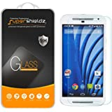 (2 Pack) Supershieldz for Motorola Moto G (2nd Generation) Tempered Glass Screen Protector, Anti Scratch, Bubble Free