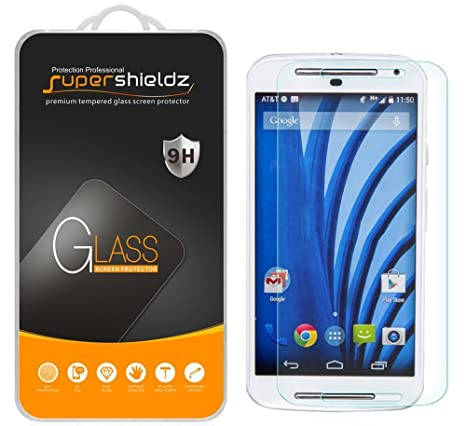 c52a6fc7cf0 [2-Pack] Supershieldz for Motorola Moto G (2nd Generation / 2nd Gen
