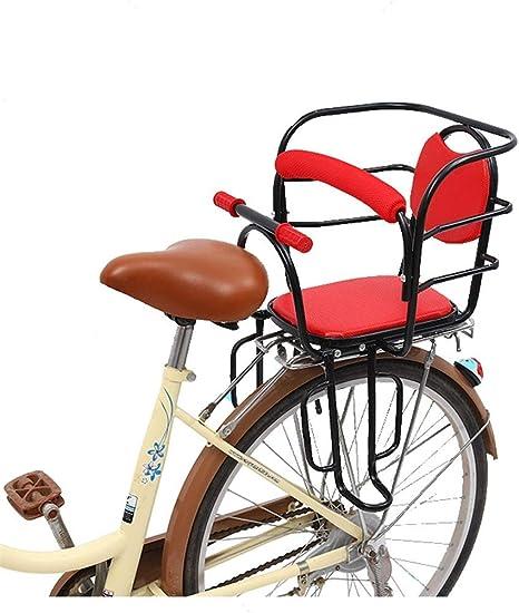 BNVN Asiento Infantil Engrosamiento Bicicleta Asiento Trasero ...
