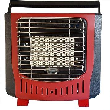 Portátil Estufa De Calefacción Cómodo Compacto Encendido Electrónico Piezoeléctrico Gas Butano 1200W: Amazon.es: Hogar