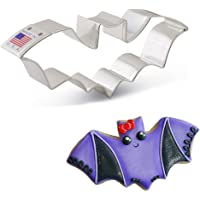 Ann Clark Cookie Cutters Flying Bat Cookie Cutter - 4.5 Inches - Tin Plated Steel