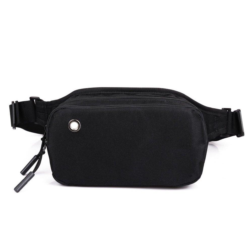 GSCSchuhe Reise-Gürteltasche Hüfttasche Sling Tasche Superleicht für Reisekasse Box Schwarz Polyester Gürtelholster Tasche