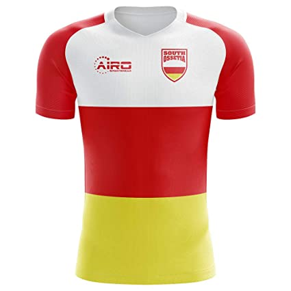 2fd6f4f6f Image Unavailable. Image not available for. Color: Airo Sportswear 2018-2019  South Ossetia Home Concept Football Soccer T-Shirt Jersey
