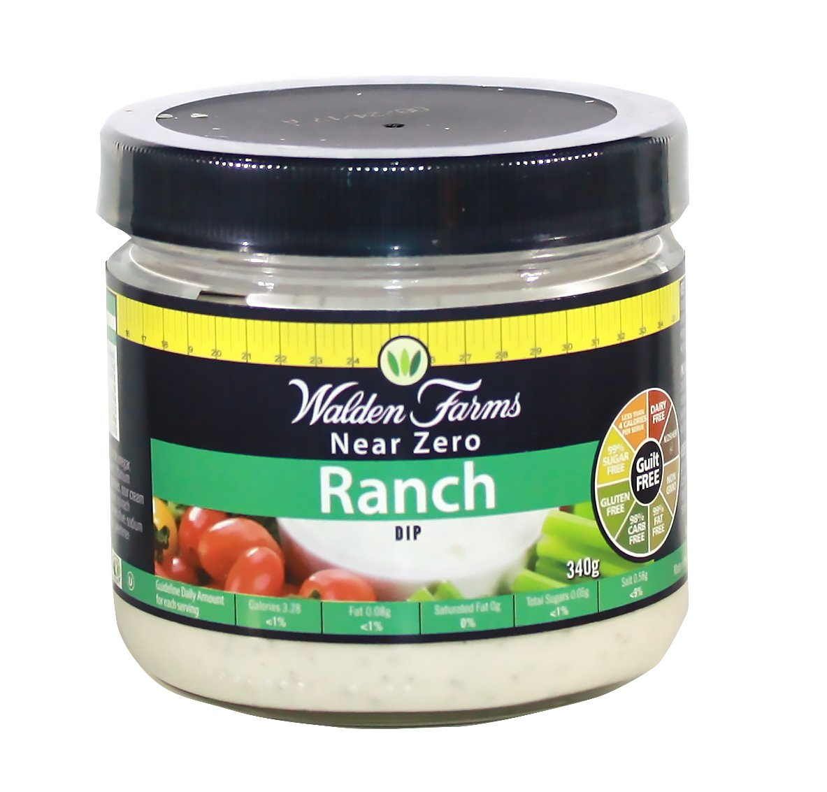 Walden Farms 340g Calorie Free Veggie Ranch Dip: Amazon.es: Salud y cuidado personal