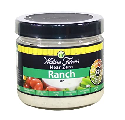 Walden Farms 340g Calorie Free Veggie Ranch Dip