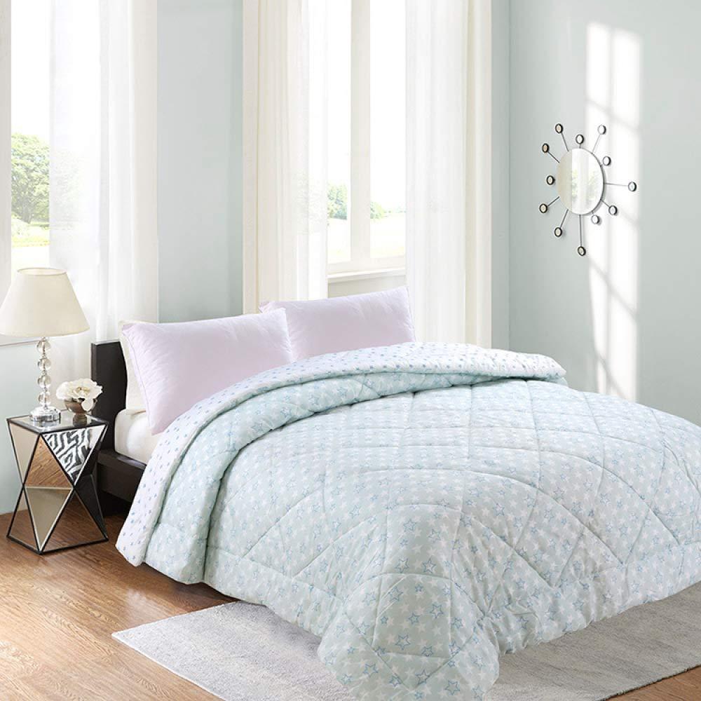 Littlefairy daunendecke,Reibende Baumwolle Kern Doppel Klimaanlage von Wohnheim Frühling und Herbst Bettwäsche gedruckt