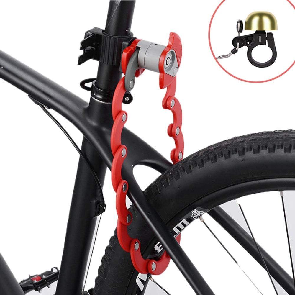 ZHLZH , Bicicleta de montaña Coche eléctrico Múltiples Cerraduras ...