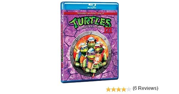 Teenage Mutant Ninja Turtles 3 Edizione: Stati Uniti USA Blu ...