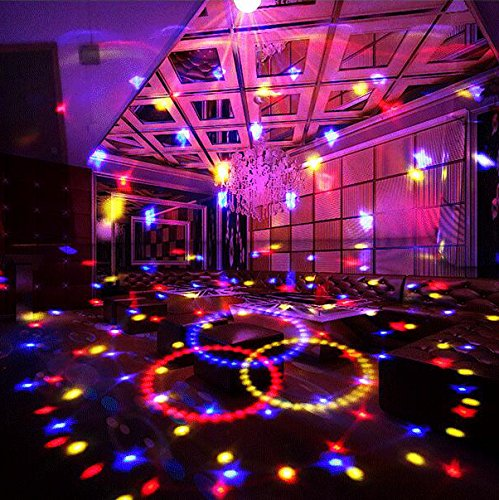 Dj Disco Ball Party Lights Bluetooth Speaker TONGK LED Magic Ball Colorful Mirror Ball Disco Lights Sound Activated Strobe Light for Home Party Gift Birthday halloween Dance Bar Xmas Wedding Show Club by TONGK (Image #8)