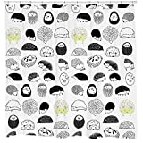 Cute Curtains Cute Hedgehog shower curtain critters bathroom accessories for girls