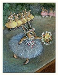 product image for Wee Forest Folk Note-17 - Degas Bunny Note Cards Set of 6