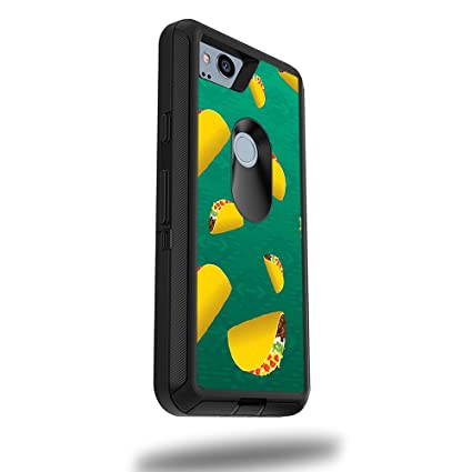 """MightySkins Skin for OtterBox Defender Google Pixel 2 XL 5.5"""" Case - Tacos 