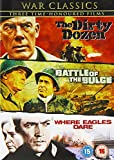 War Classics (The Dirty Dozen / Battle Of The Bulge / Where Eagles Dare [Import anglais] [Region 2]