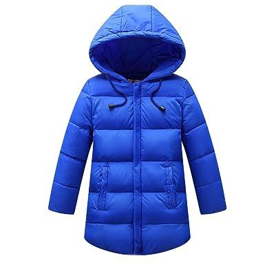 Kidslove Daunenjacke Kinder Winterjacke mit Kaputze Daunenmantel Junge Mädchen Baby Herbst Jacke Winterjacke