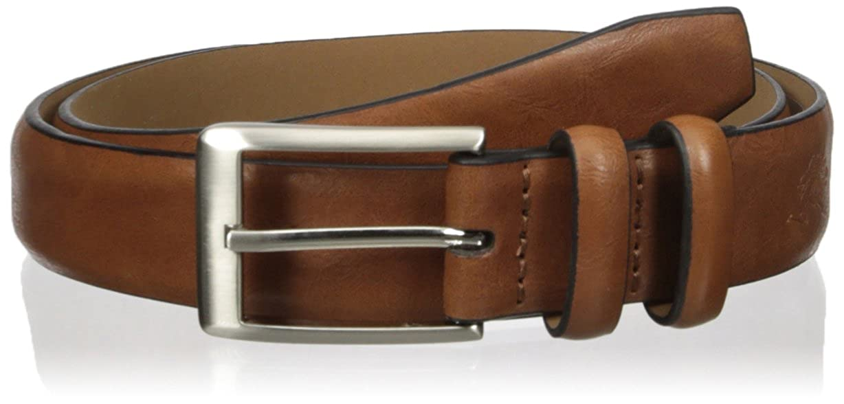 1-1//4 Wide Feather Edge Mens Belt
