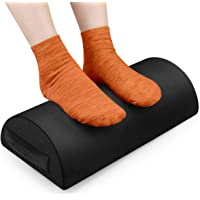 2020 Foot Rest Under Desk Cushion, Ergonomic Foot Stool with Handle Pure Memory Foam with Non-Slip Surface for Office…