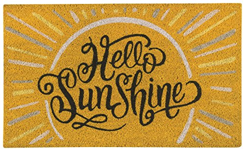 Now Designs Doormat Hello Sunshine