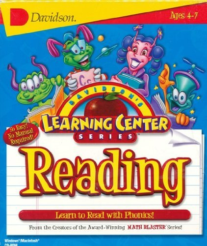 Davidson's Learning Center Series - Reading - Ages 4-7