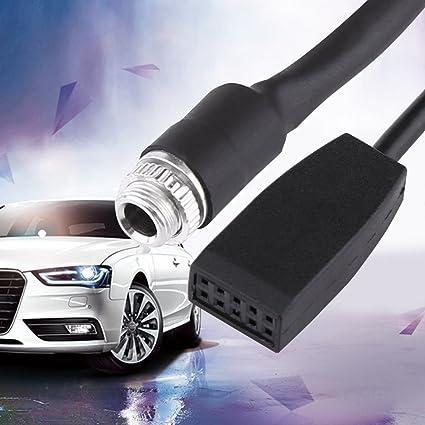 Amazoncom Aux Audio Cable For Bmwin Car Female Jack 35mm Aux