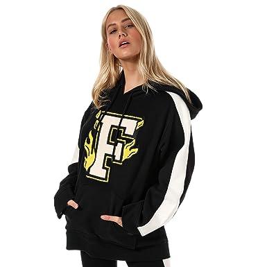 c75e75add4b5f Puma Sweatshirt Fenty Noir Femme  Amazon.fr  Vêtements et accessoires