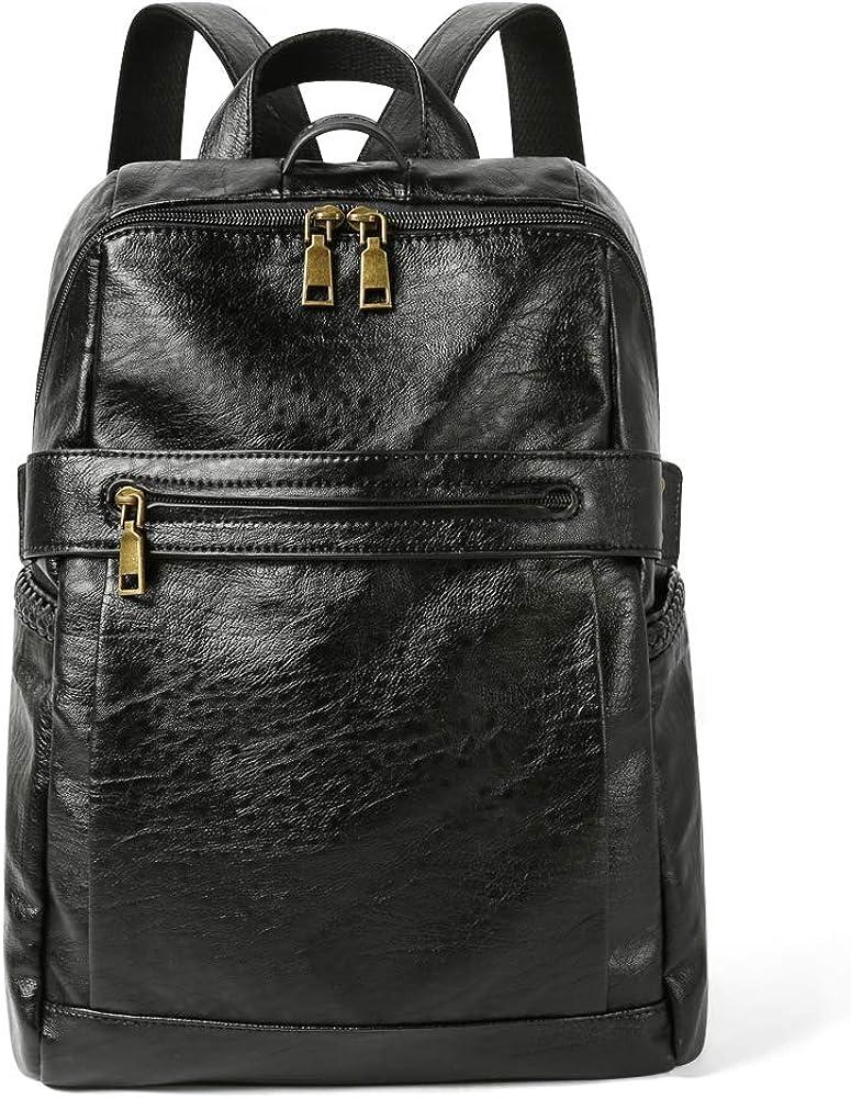 Ellington Dark Brown Shoulder Travel Women/'s Handbag Nylon Leather Bag