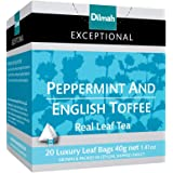Dilmah Exceptional Peppermint & English Toffee, 40 Grams