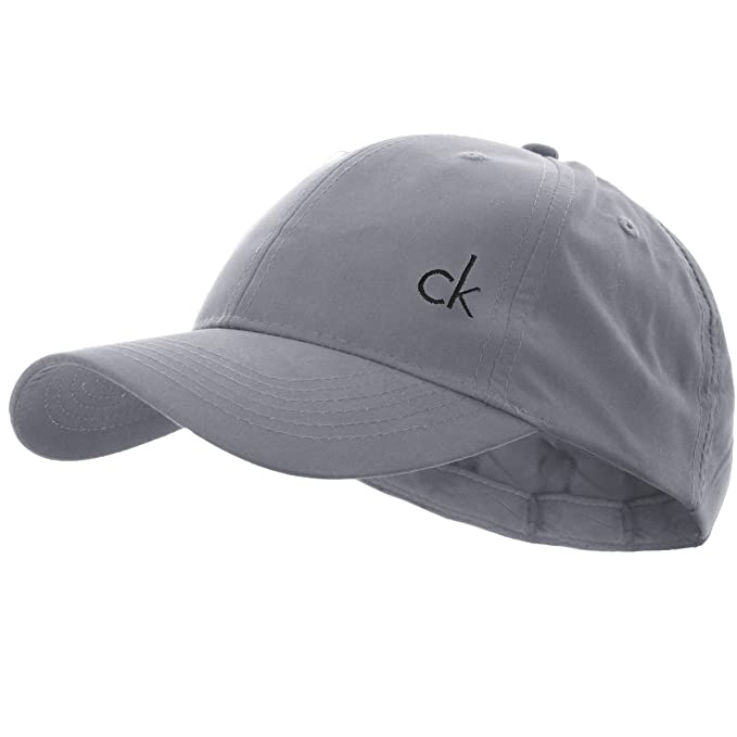 4b8c1e6b43a Calvin Klein Men s CK Vintage Microfibre Baseball Cap - One Size - Grey   Amazon.ca  Clothing   Accessories