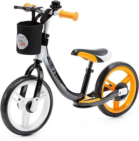 Kinderkraft Bicicleta sin Pedales SPACE, Sillín Ajustable, con ...