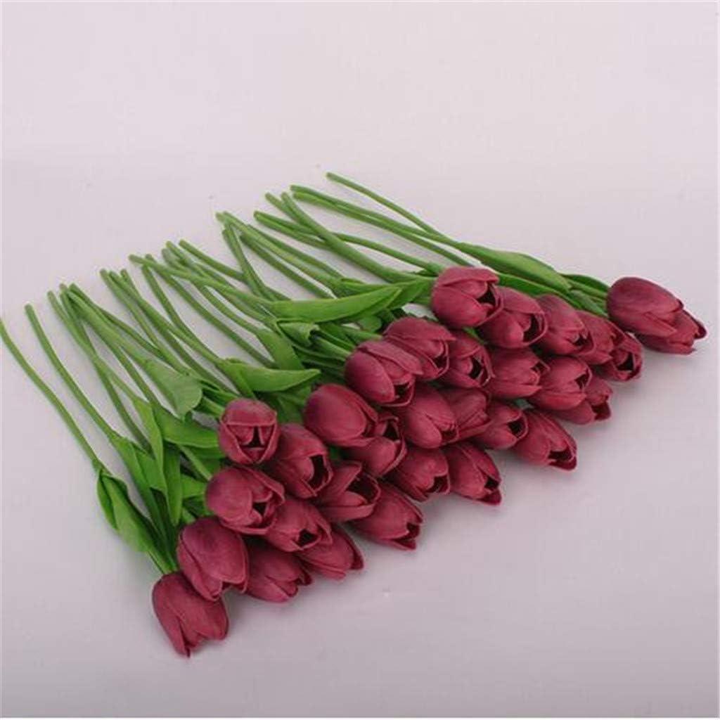 Dwevkeful Flores Artificiales para Manualidades-20pcs Flores de ...