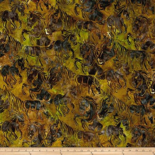 Horse Batik Fabric - 1