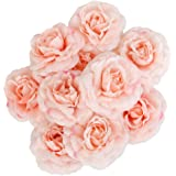 10 x Blumen-Köpfe Kunstblumen Blüten Flowers Künstliche Blumen Hausdeko Kamelie