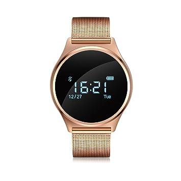 Fancy Cherry® M7 inteligente reloj pulsera Bluetooth 4.0 Heart Rate Monitor Podómetro Bluetooth pulsera Fitness Tracker para Android 4.3 IOS 8.0 Smart ...