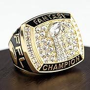 Fantasy Football Championship Ring (Gold) Size-12
