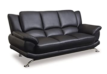 Amazon Com Global Furniture Rogers Collection Bonded Leather
