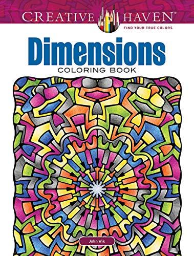 Creative Haven Dimensions Coloring Book (Creative Haven Coloring Books)