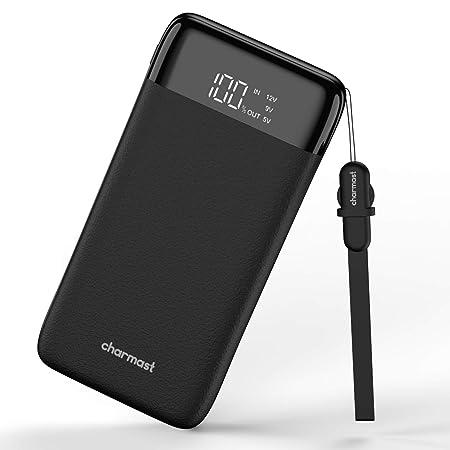 Charmast Powerbank 20800mah Externer Akku Power Delivery QC3.0 Quick Charge LED Digital Display Micro USB Type C Kabel Handy