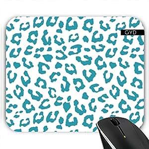 Almohadilla Del Ratón - Azul Del Estampado De Animales 08 by Aloke Design