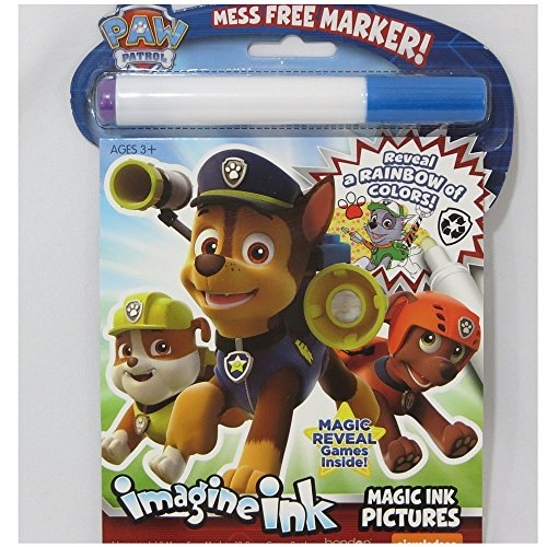 Magic Tree House Characters Costumes (Paw Patrol Imagine Ink Magic Pictures with Mess-free Marker)