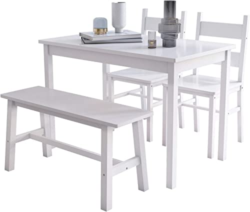 Mecor 4-Piece Kitchen Dining Table Set