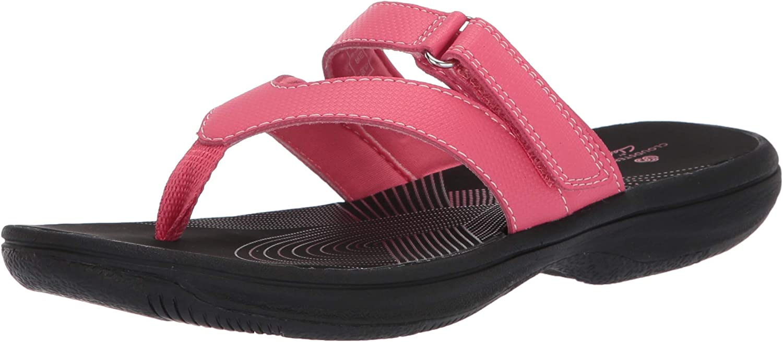 Clarks Women's Brinkley Marin Flip-Flop
