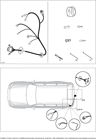 UmbraRimorchi Vertikal Abnehmbare Anh/ängerkupplung mit 13p C2 E-Satz f/ür Seat Ibiza Fliessheck 3-5T/ürer 2008-2015 UT330COR21ZVMM//WU403DE1