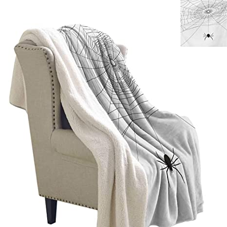 Marvelous Amazon Com Gabriesl Spider Web Flannel Bed Blankets 60X47 Ocoug Best Dining Table And Chair Ideas Images Ocougorg