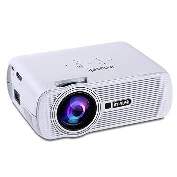 IMATEK PJ-B800 Blanca Multi-función LCD proyector de vídeo, 1200 ...