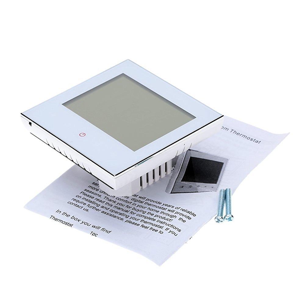 Termostato WIFI, Arxus WIFI Control LCD Pantalla táctil 2/4-Pipe termostato programable para aire acondicionado central: Amazon.es: Bricolaje y herramientas