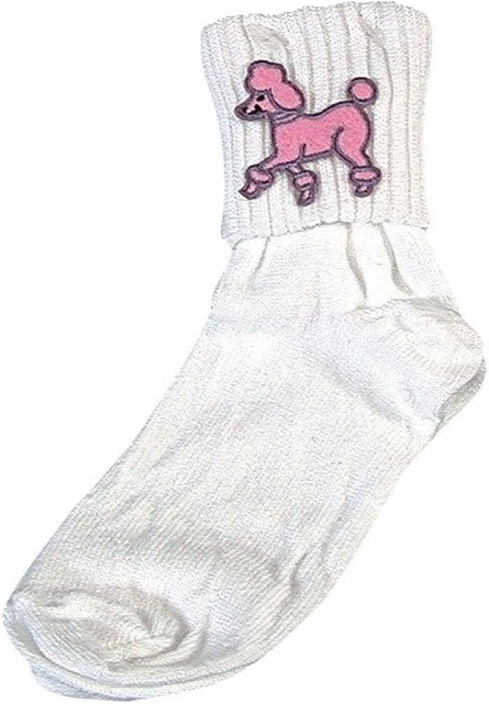 B00066G50C Women;s Bobby Socks for 50s Costumes and 50's Sock Hops 615aKnmQtqL