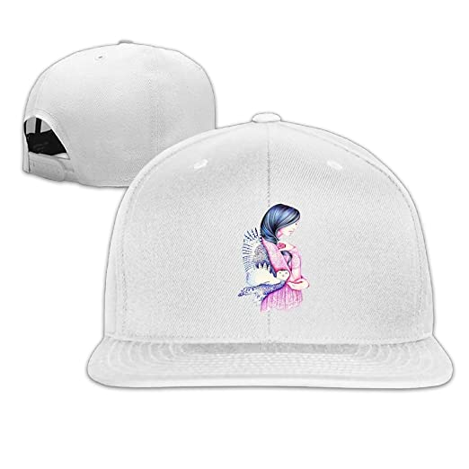 HHNYL Snapback Cap Secret Girl Flat Bill Hats Adjustable Baseball Caps for  Men Women at Amazon Men s Clothing store  8d5b5055049f