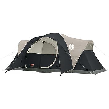 Coleman Montana 8 Person Tent, Black