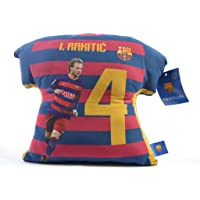 ToyWorld New FC Barcelona Football 30cm Rakitic Tshirt Pillow Numer 8 Design Soccer